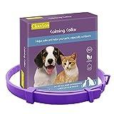 XIANLIAN Pet Calming Pheromone Collar,Dog Calming Collar Cat Comforting Collar,Best Natural Stress Prevention For Your Pets,Small Medium Large Pet