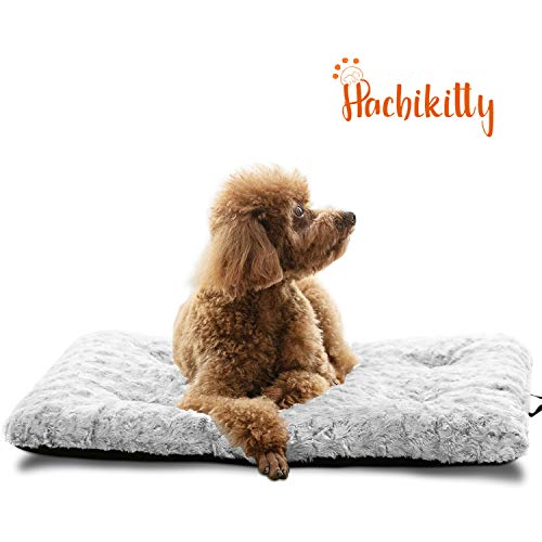 HACHIKITTY Large Dog Beds Crate Mat, Dog Bed Crate Pad Medium, Dog Crate Bed Extra Large, 24''/30''/36''/42'' Beds Furniture