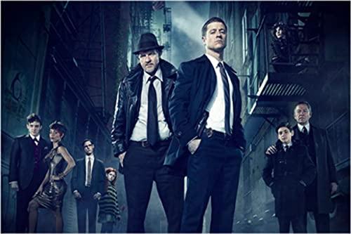 WYMADAL Puzzle 1000 Piezas Programa De La Serie De Televisión Gotham Intelectual Educativo Divertido Juego Familiar Juguete
