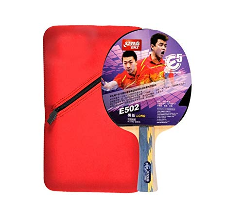 Find Discount HUIJUNWENTI Horizontal Shot, Double-Sided Anti-Adhesive Ping Pong Racket All-Round Type (with Set, Single Pack) 2 Stars, 3 Stars, 4 Stars, 5 Stars, (Edition : 5 Stars)