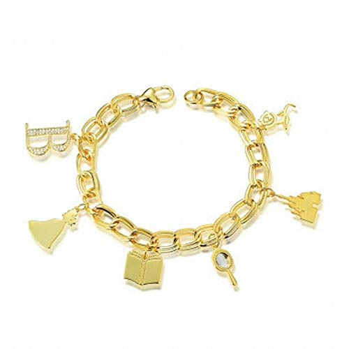 Couture Kingdom Princess Beauty Charm Bracelet, Disney