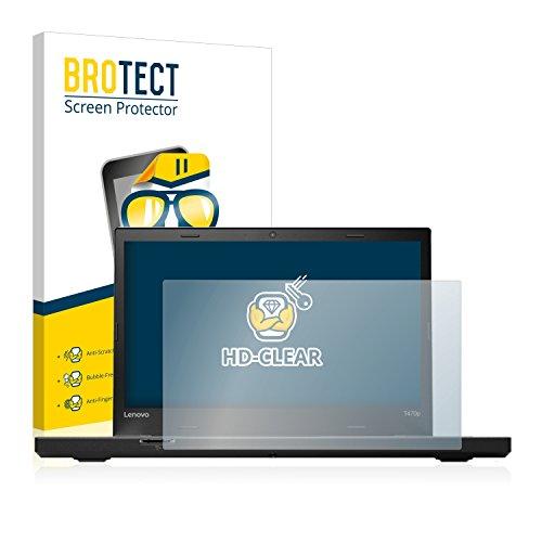 BROTECT Schutzfolie kompatibel mit Lenovo ThinkPad T470p klare Bildschirmschutz-Folie