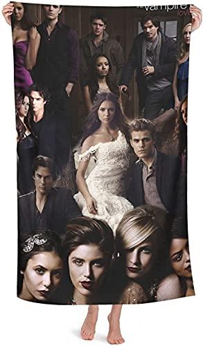 QWAS The Vampire Diaries - Toalla de playa (microfibra, 5,80 x 135 cm)