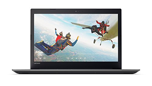 Lenovo IdeaPad 320 43,9 cm (17,3 Zoll HD+ Anti-Glare) Laptop (AMD A6-9220 Dual-Core, 4 GB RAM, 1 TB HDD, DVD-Brenner, AMD Radeon R4, Windows 10) schwarz (onyx black)