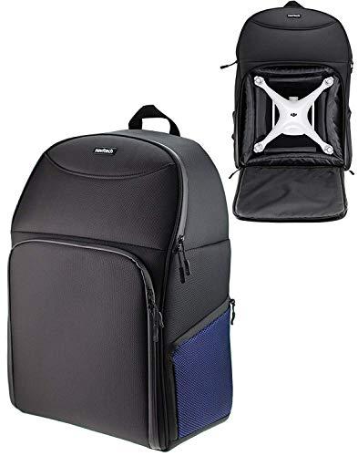 Navitech Robuste schwarz und blau Rucksack Hulse kompatibel mit Phantom 4 RTK Drone