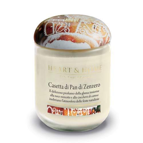 Heart & Home CASETTA di Pan di Zenzero Candela 115g