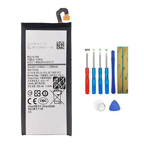 Batteria Swark EB-BJ530ABE Compatibile con Samsung Galaxy J5 (2017) J530 SM-J530F con strumenti