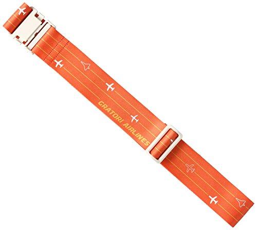 [コンサイス] GRATORI スーツケースベルト 185 cm 505570 オレンジ