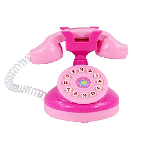 Pulabo - Juguete para teléfono móvil para niños con música de entretenimiento, juguetes para niños, juguetes para niños, juguetes para el aprendizaje, educación, regalo de cumpleaños, artesanía fina