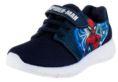 Brandsseller Spider - Zapatillas de estar por casa para niño, color Azul, talla 25/26 EU