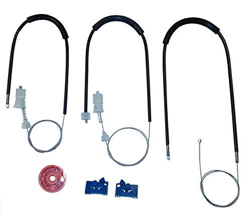Twowinds - 8200000937 Kit de reparación de elevalunas eléctrico Delantero Izquierdo Laguna II Grandtour Hatchback