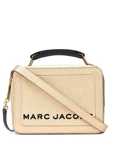 Luxury Fashion | Marc Jacobs Dames M0016184710 Goud Leer Handtassen | Lente-zomer 20