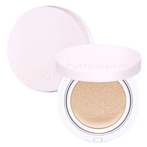 MISSHA M Magic Cushion Cover Lasting SPF50+/PA+++(No.21) - longlasting, high coverage, hydrating cushion foundation with excellent long lasting effect
