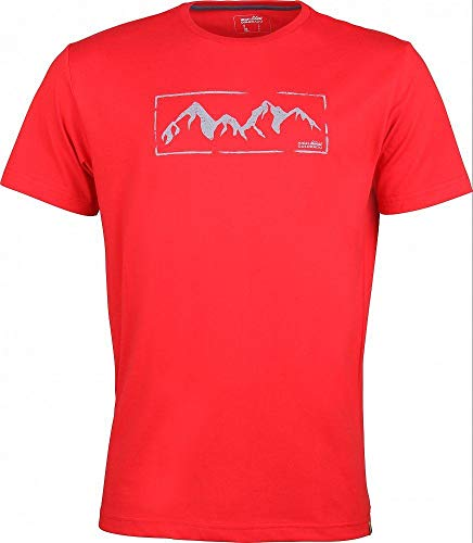 High Colorado Garda 5 T-shirt à manches courtes pour homme Rouge 3XL Rouge High Risk
