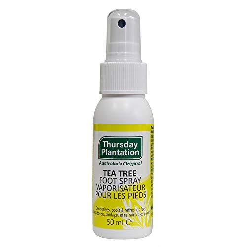 Thursday Plantation Spray para pies de arbol de te, 50 ml