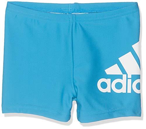 adidas Jungen Badge of Sport Badeshorts, Shock Cyan, 164
