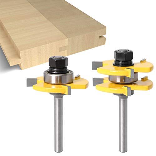 BSTQC Holzbearbeitungsfräser, 2 Stück...