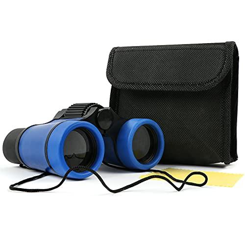 Scotamalone Kids Binoculars Shock Proof Toy Binoculars Set for Age 3-12 Years...