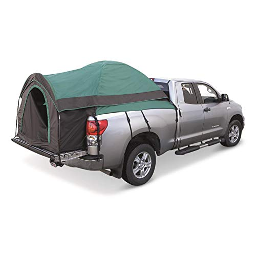 """Guide Gear Full Size Truck Tent for Camping, Car Bed Camp Tents for Pickup Trucks, Fits Mattresses 79-81"""", Waterproof Rainfly Included, Sleeps 2"""