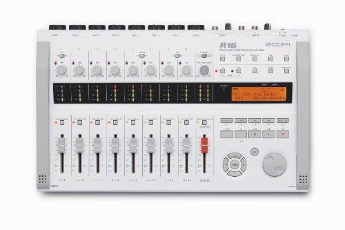 Zoom R16 Multitrack SD Recorder Controller and Interface with 8GB SD Card and 8 AA Batteries