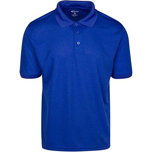 Premium Mens Royal Blue Drifit Polo Shirt Medium