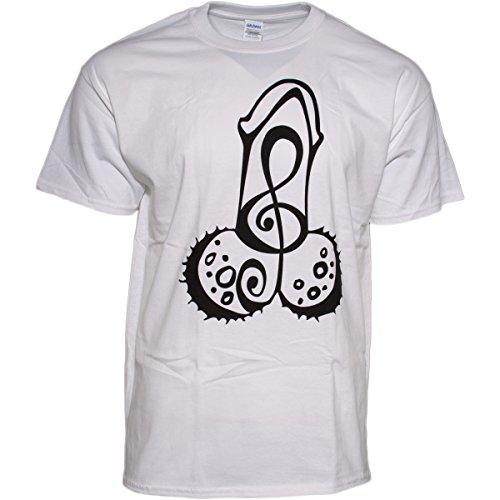 K.I.Z. Oldschool Puller T-Shirt Weiss XXL