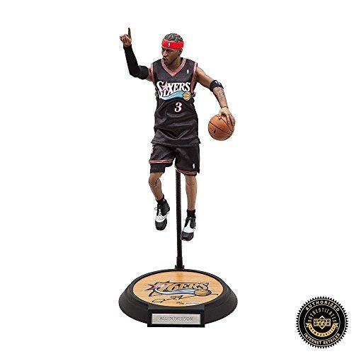Allen Iverson Autographed/Signed Enterbay Figurine - Philadelphia 76ers
