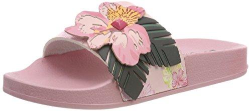 Desigual Damen Shoes_Slide Malibu Peeptoe Sandalen, Mehrfarbig (3103 Crystal Pink), 38 EU