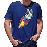 GameStop to The Moon Camiseta de Hombre Triste Size L