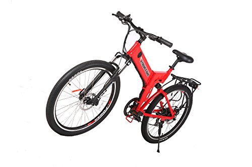 X-Treme Scooters X-CURSION Elite Folding Electric Mountain E-Bike Bicycle, Red by Xtreme
