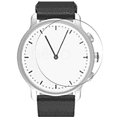 Vaxson 3 Stück Schutzfolie, kompatibel mit Nevo watch 40mm Smartwatch Hybrid Watch, Displayschutzfolie Bildschirmschutz Blasenfreies [nicht Panzerglas]