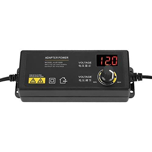 Voltaje Ajustable, Salida Estable Protección Contra Sobrecorriente Adaptador De Corriente Regulable Protección Contra Sobretensión Para Masajeadores Para Tiras De LED Para TV Box