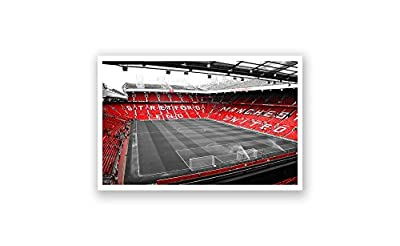 ArtsyCanvas Manchester United - Old Trafford (18x10 Poster)
