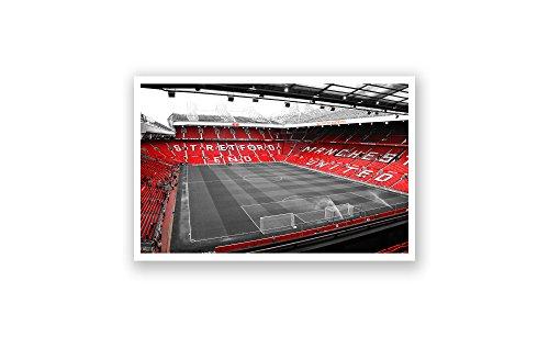 ArtsyCanvas Manchester United - Old Trafford (36x20 Poster)