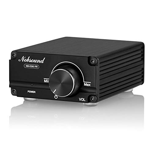 Nobsound 100W Full Frequency Mono Channel Digital Power Amplifier Audio Mini Amp with Power Supply (Black)