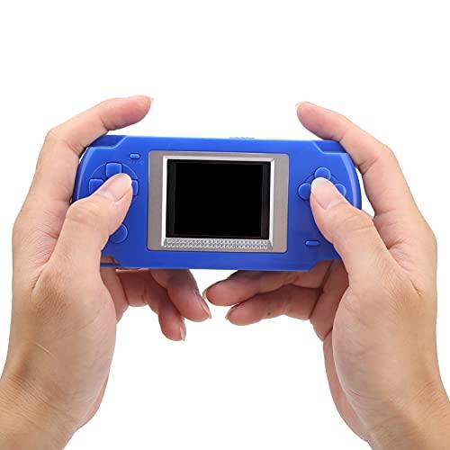 Surebuy Consola de Juegos para niños, Exquisito Juego portátil de 1.8 Pulgadas para avión para niños para Viajes(Azul)