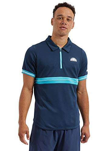 ellesse polo heren Wesley Polo donkerblauw navy
