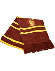 Gryffindor Scarf -Stripes - MAROON/GOLD - One Size