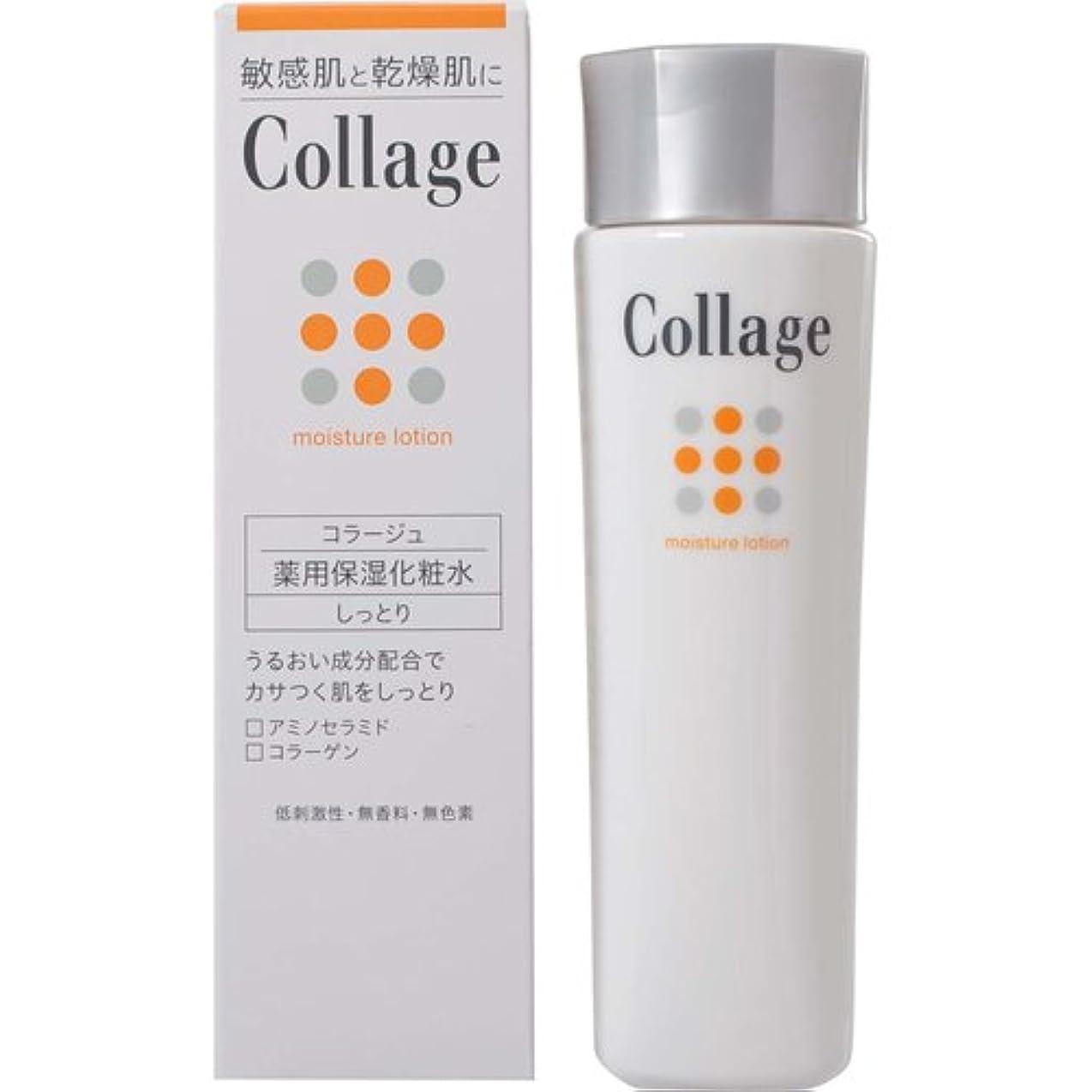 印象派中で溶かすコラージュ 薬用保湿化粧水 しっとり 120mL 【医薬部外品】