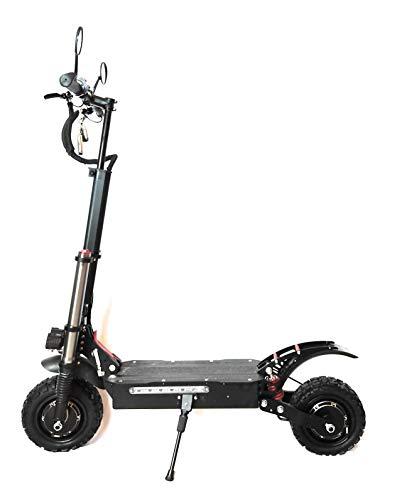 VOLTRIDER Patinete Eléctrico Dual Motor 5600W hasta 85 km/h y 80 Km de autonomía