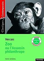 Zoo ou l'Assassin philanthrope de Vercors