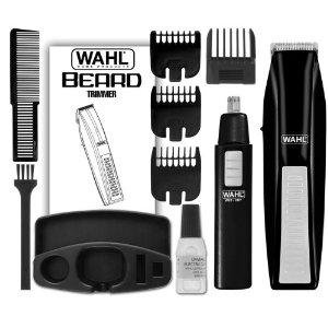 Price comparison product image Wahl Wireless Men's Hair and Beard Trimmer Plus Bonus Ear / Nose Trimmer