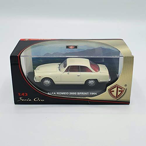 Edison Giocattoli MODELLINO Alfa Romeo 2600 Sprint 1964 1:43