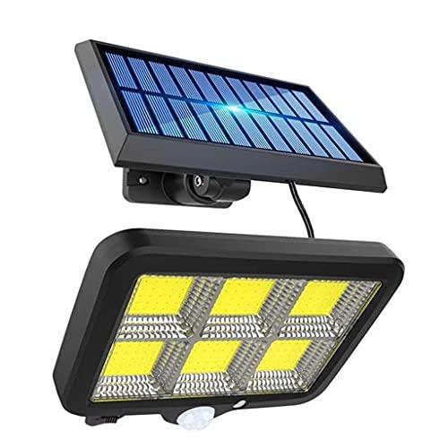 XHBH Luces de Pared al Aire Libre portátil Societa Solar Impermeable LED LED luz Solar Sensor de Movimiento al Aire Libre para la Calle del jardín Lámparas de inundación de la Calle 4.21