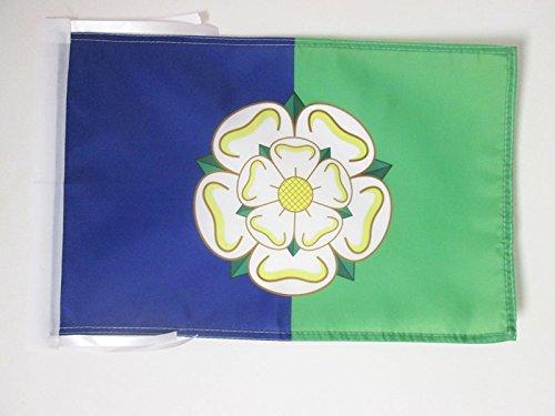 AZ FLAG Flagge GRAFSCHAFT East Riding of Yorkshire 45x30cm mit Kordel - East Riding of Yorkshire Fahne 30 x 45 cm - flaggen Top Qualität