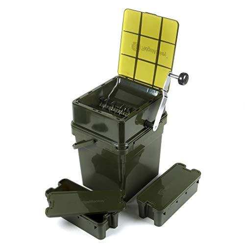 Ridge Monkey Advanced Boilie Crusher Full Kit - Boiliecrusher zum Zerkleinern von Boilies, Boiliezerkleinerer