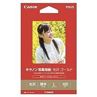 キヤノン 写真用紙光沢ゴールドL判100枚 GL-101L100 00069161【まとめ買い3冊セット】