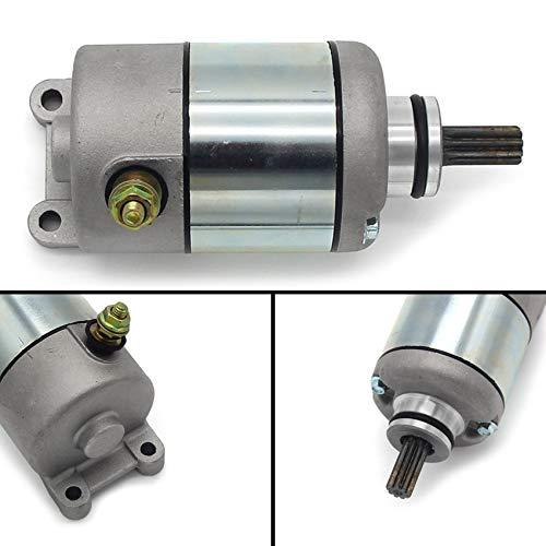 ZMMWDE Arranque del Motor de Arranque eléctrico,para Kawasaki KLX125S KLX140S KLX150S 2008 2009 2010 2011 2012 2013-2018 21163-0058 21163-0043