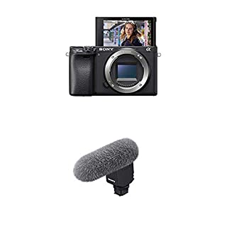 Sony α6400 E-mount compact mirrorless camera body and Camera with Compact Microphone Bundle (B086XVJ78Y)   Amazon price tracker / tracking, Amazon price history charts, Amazon price watches, Amazon price drop alerts