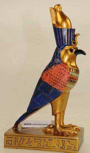 Ägypten: Replik Horus Falke Figur Vogel